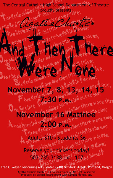 Fall 2008 - And Then There Were None