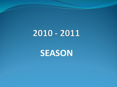 2010-2011 Season