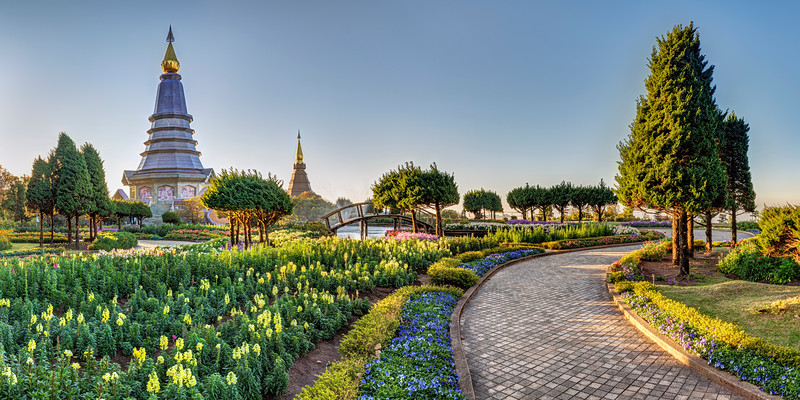 Doi Inthanon Panorama