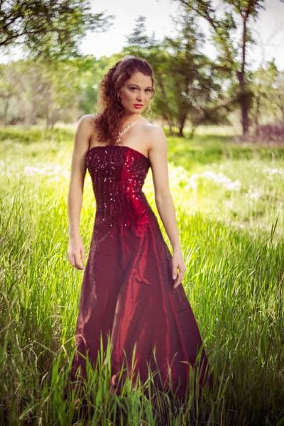 Kaitlyn Carson Peterson Gowns in the Wood