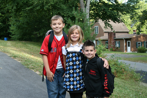 First Day of 3rd Grade 9-2-08