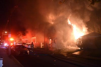 Spruce Street Fire - 5-5-2018