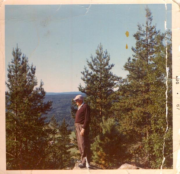 Eric Bergqvist på Gurlita klätt