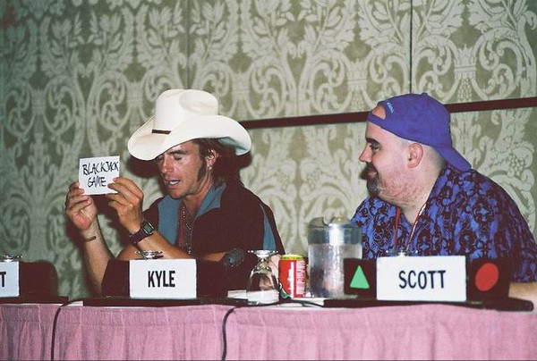 Scott McNeil and Kyle Hebert