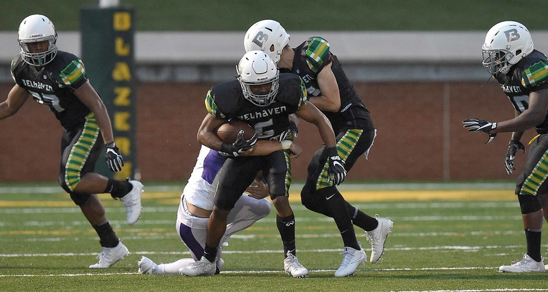 Belhaven University 42 - Millsaps College - 37 on Thursday, August 31, 2017