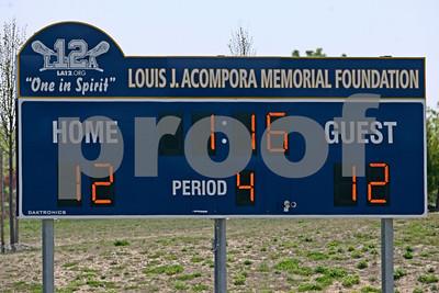 4/21/2012 - Eastport-South Manor vs. Bayport Blue-Point - Louis J. Acompora Jamboree - Veterans Park, Northport, NY