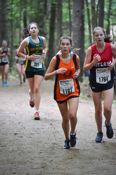 Girls 5 2018 Woods Trail Run 2018-10-06