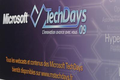 Techdays - 10 au 12 février 2009