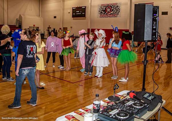 Russell MS Fall Dance Winder GA Oct 2019