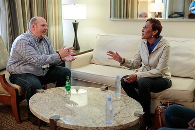 Tom Bohn-Robin Roberts Meeting