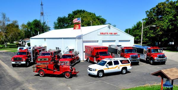 SUBLETTE FIRE DEPARTMENT