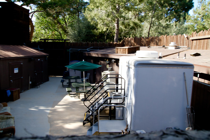 Inside The Old Fort Wilderness on Tom Sawyer's Island
