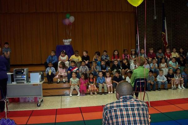Zack's Kindergarten Graduation Sparks 2005