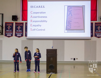 TASIS Elementary School's First All-School Assembly