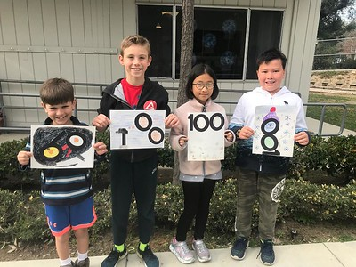 Palm Crest Artists Celebrate 100 Days on a Mural