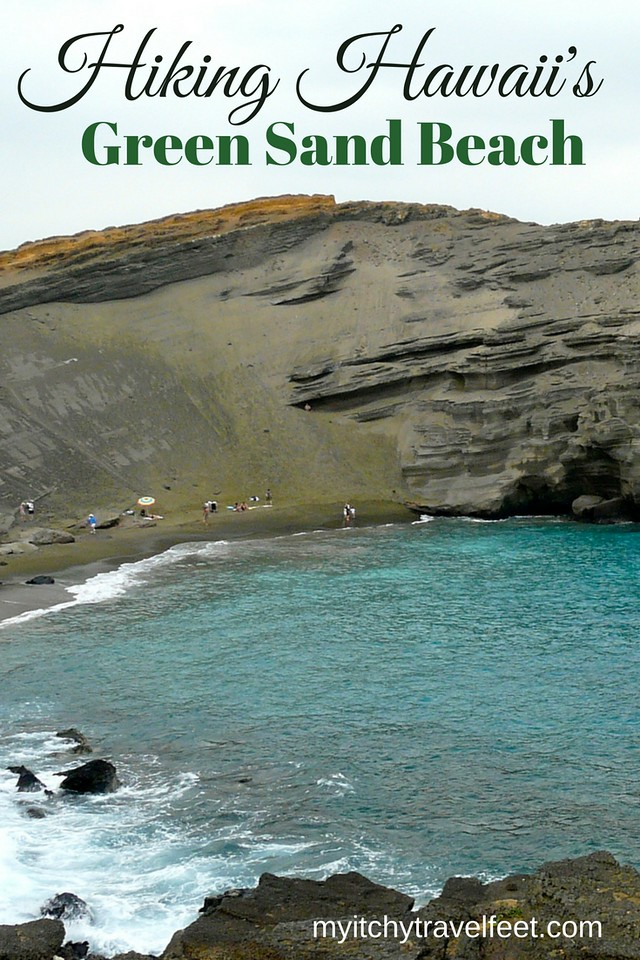 Tips for hiking to the green sand beach on Hawaii. Read our advice for this fun adventure on the Big Island.