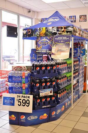 Pepsi Displays 2013
