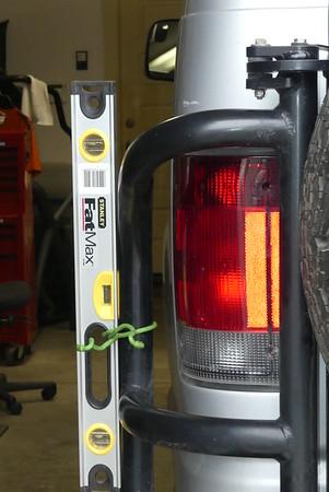 Aluminess Rear Bumper Damage