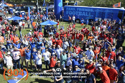 Bud Light FL vs GA Tailgating Party - 10.28.17