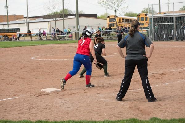 Ally Grimes Softball 4/23/16