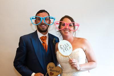 Graeme and Rhiann Photo Booth
