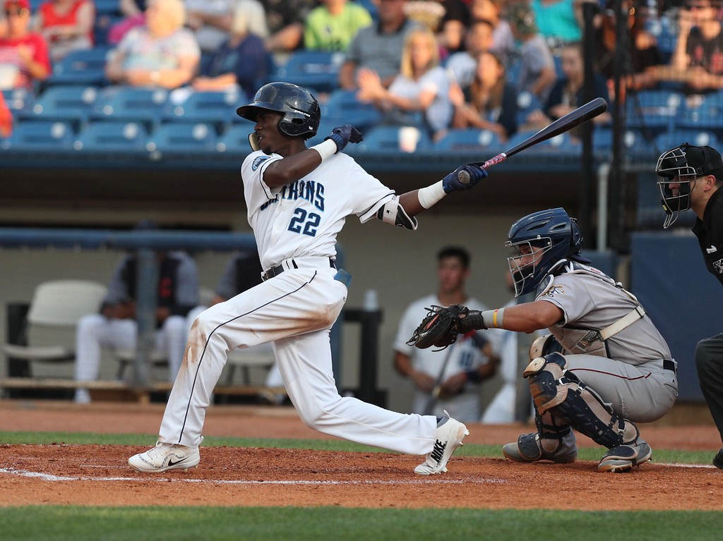 . Tim Phillis - The News-Herald Photos from the Lake County Captains vs. Bees on July 21, 2018, at Classic Park in Eastlake.
