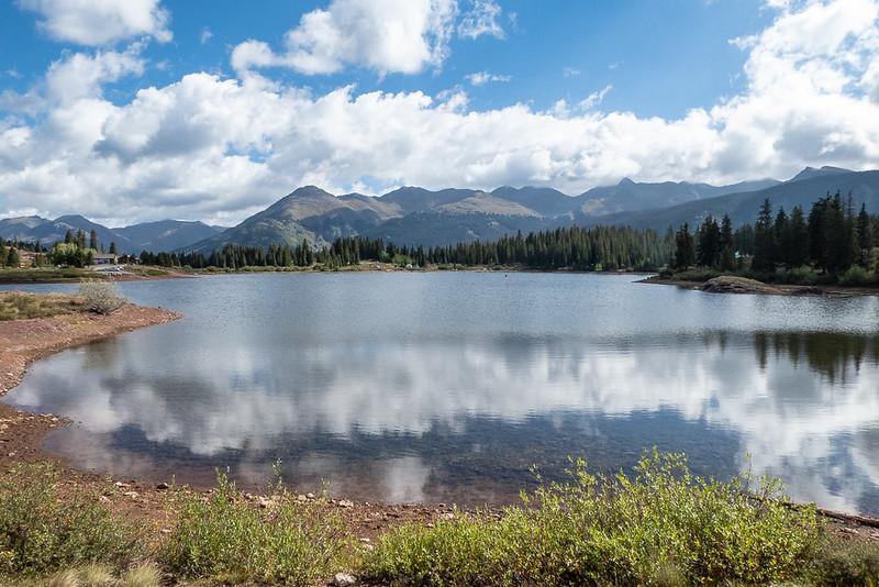 "Mountain Scenery over ""Big"" Molas Lake"