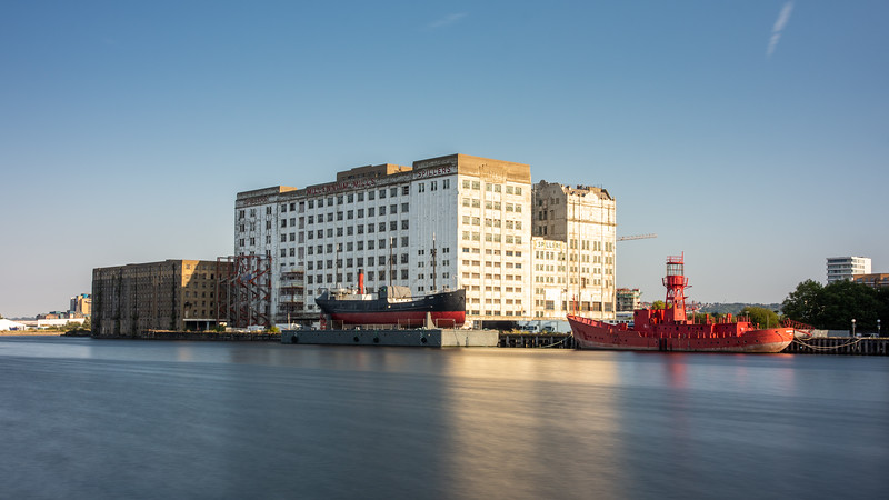 Millennium Mills on the Royal Docks