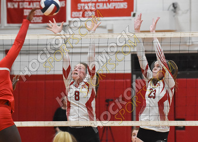 North Attleboro - New Bedford Volleyball 10-31-19
