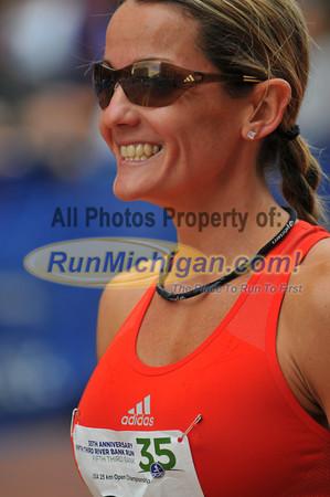 25K Pre-Race Elite Runners - 2012 Fifth Third River Bank Run