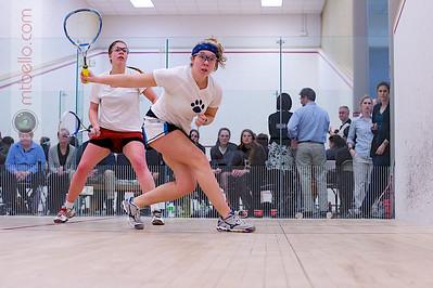 2012-02-24 Erika Kohnen (Brown) and Kathryn Brummer (Mount Holyoke)
