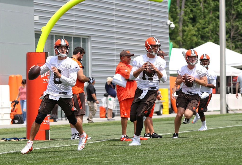 . Tim Phillis - The News-Herald Scenes from the first day of Cleveland Browns training camp on July 27, 2017, in Berea.