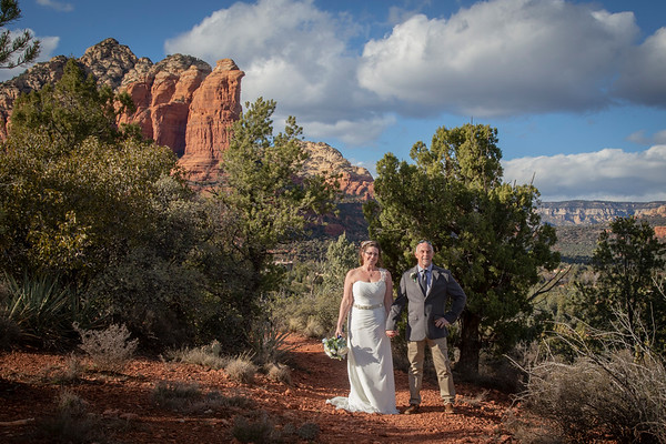 Melissa & Tim's Sedona Wedding