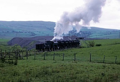 Scottish colliery steam 1973: Waterside