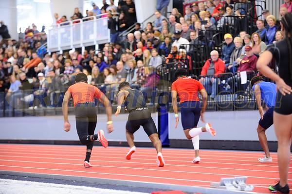 Boys' 60 Meter Prelims - 2018 MITS Staet Meet