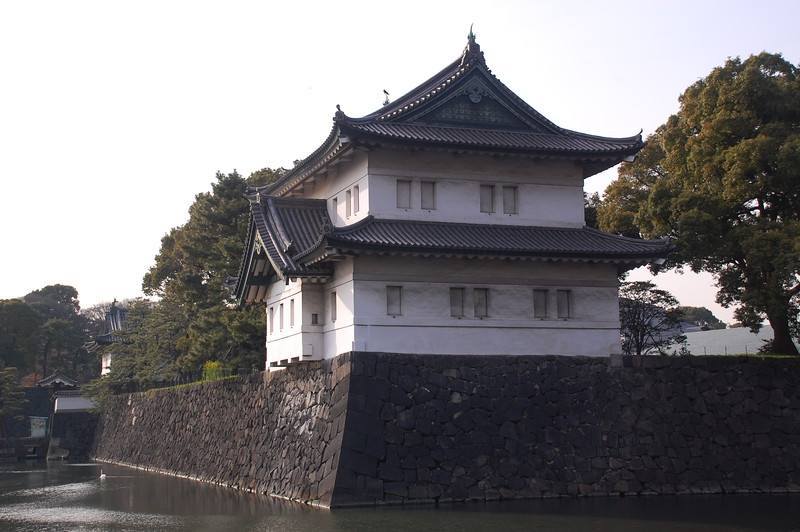 Tatsumi Yagura Tower in Tokyo Imperial Palace Grounds