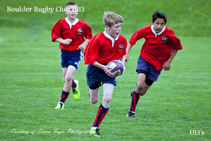 Boulder Rugby U13s