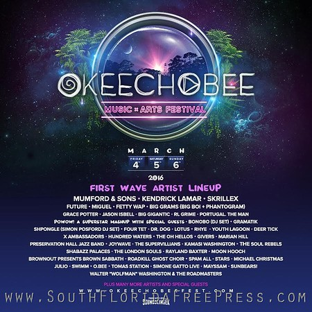 Okeechobee Music and Arts Festival - 2016