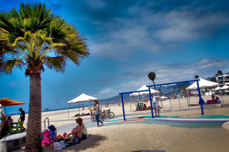 July 9 - Beach scene_ Santa Monica_ CA.jpg