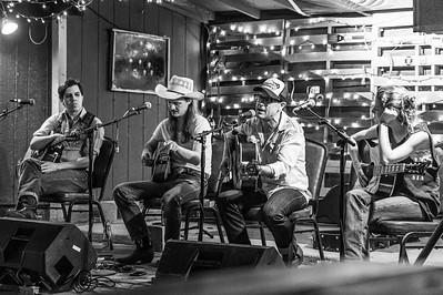 Song Swap at Hard Luck Lounge, Austin TX