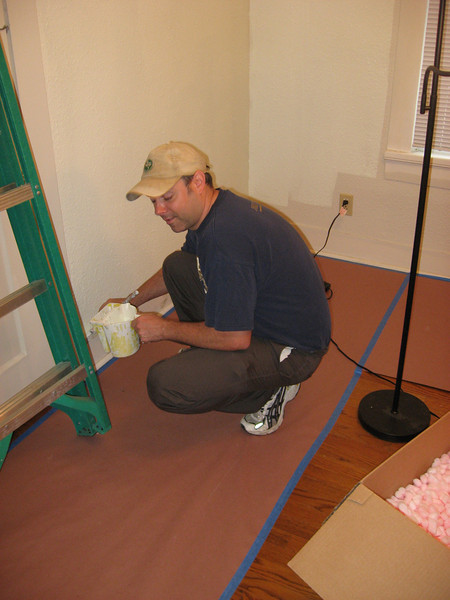Painting Curates House May 9, 2009 004.JPG