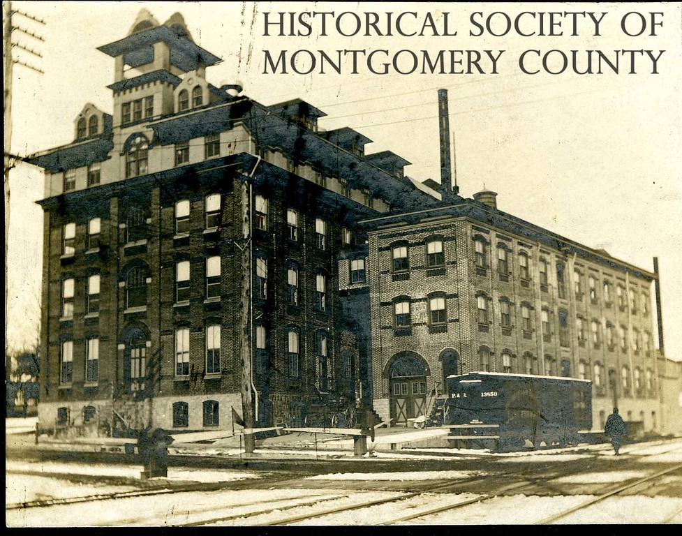 . This undated photo from the Historical Society of Montgomery County shows the Gresh Cigar Factory in Norristown. It was located at Corson and Marshall streets.