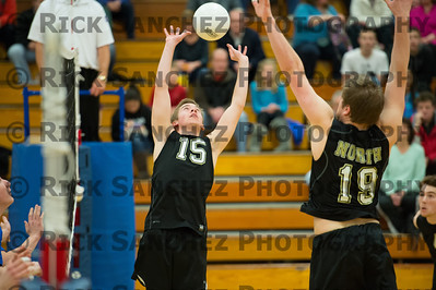 04-11-13 Sandburg Boys Volleyball