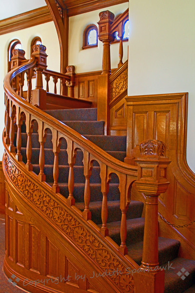Library Staircase - Judith Sparhawk