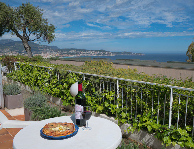 Lunch on the Terrace!