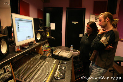 Studio Session, Koori Cohort Recording Project, 16 May 07