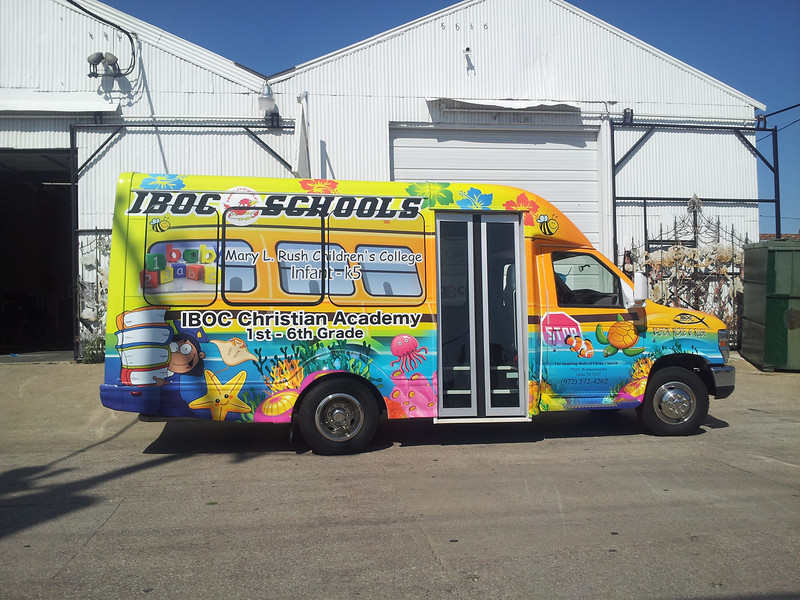 I.B.O.C., Inspiring Body of Christ, Christian Academy, Ford Transit Starcraft, Dallas, TX