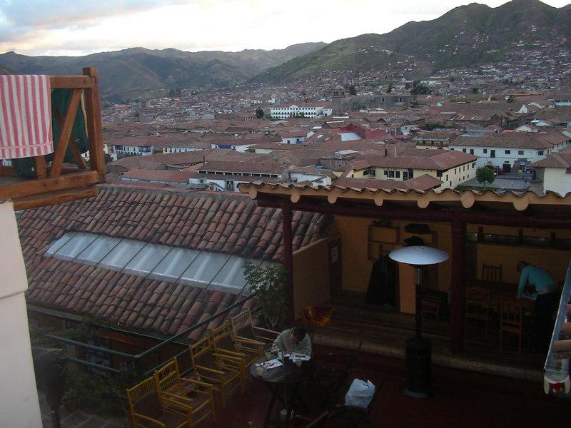 The balcony of my Spanish school.
