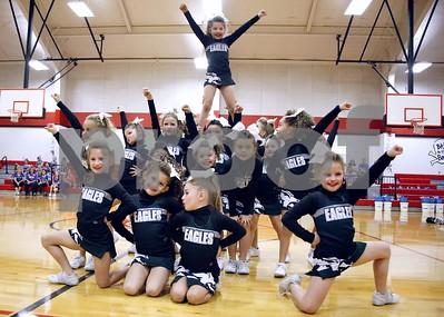 11/18/17 East Texas Pee Wee Cheerleader Super Bowl by Cori Smith