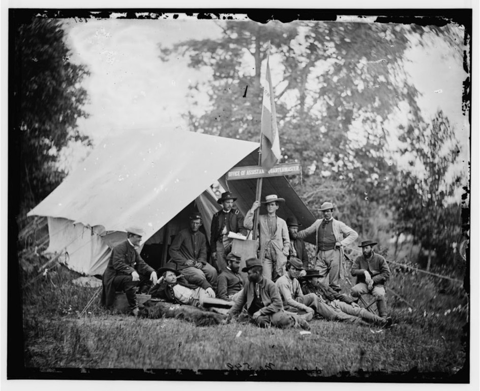 . Fairfax Courthouse, Virginia. Capt. J.B. Howard, Office of Assistant Quartermaster, Army of the Potomac. June 1863 Gettysburg Campaign.  - Library of Congress Prints and Photographs Division Washington, D.C.